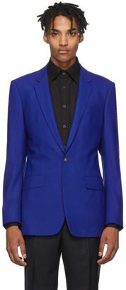 Kenzo Blue Slim Formal Blazer