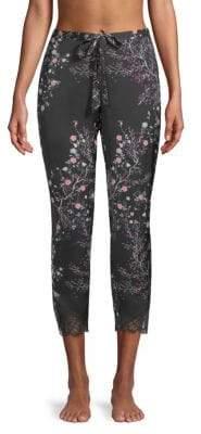 Josie Floral-Print Pajama Pants