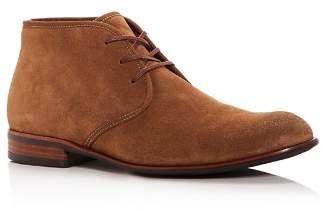 John Varvatos Men's Seagher Suede Chukka Boots