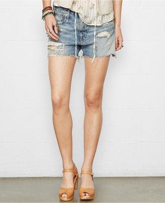 Denim & Supply Ralph Lauren Distressed Denim Boyfriend Shorts $79.50 thestylecure.com