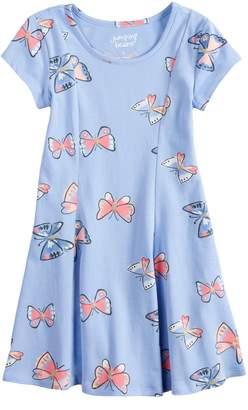Girls 4-10 Jumping BeansPrinted Dress