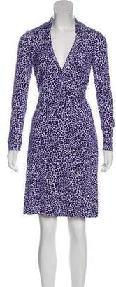 Diane von Furstenberg Printed Knee-Length Dress