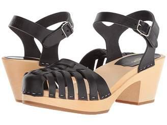 Swedish Hasbeens Snake Sandal High High Heels