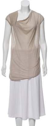Helmut Lang Cowl Neck T-Shirt