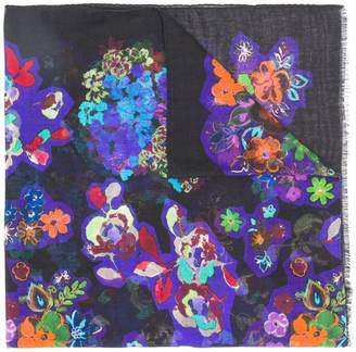 Moschino floral print scarf