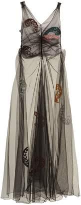 ATTICO Penelope embellished tulle dress