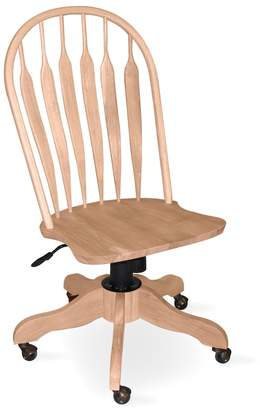 International Concepts Steambent Windsor Rolling Chair