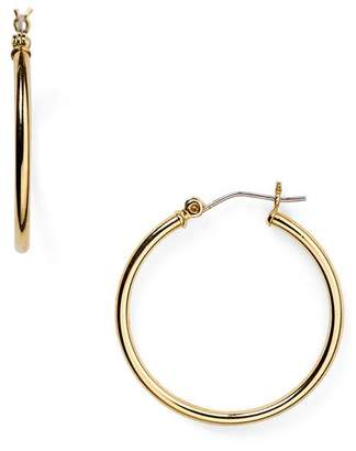 Ralph Lauren Medium Thin Hoop Earrings