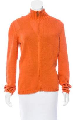 Max Mara Weekend Knit Zip-Up Cardigan Set