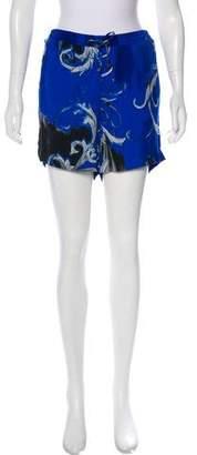 Versace Printed Mini Shorts