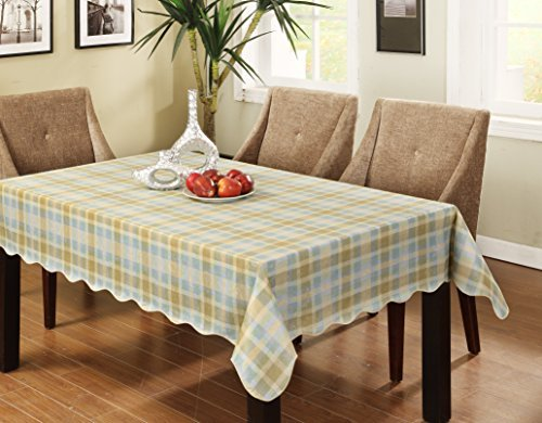 Affordable Eforcurtain Fresh Checkered Flannel Back Table Cover Vinyl  Tablecloth Easy Care For Kitchen With Kitchen Table Covers Vinyl