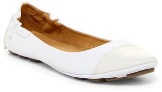 Peter Millar Cap Toe Ballet Flat $198.50 thestylecure.com