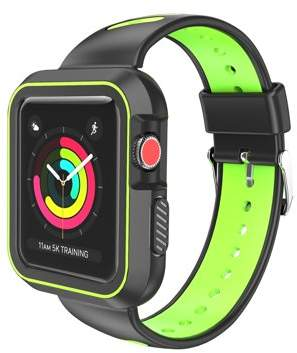 SUMACLIFE Luxury Two Tone Sports Band For Apple Watch Series 3, Series 2, Series 1 - 38mm