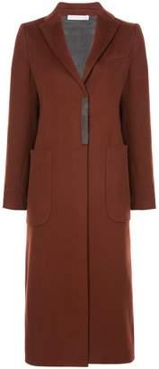 Fabiana Filippi long single-breasted coat