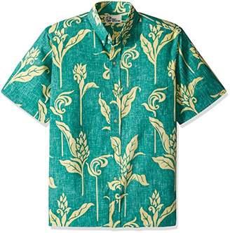 Reyn Spooner Men's Walea Kloth Classic Fit Hawaiian Shirt