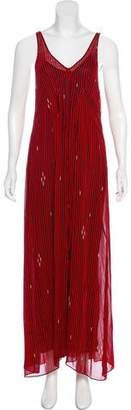 Etoile Isabel Marant Striped Maxi Dress