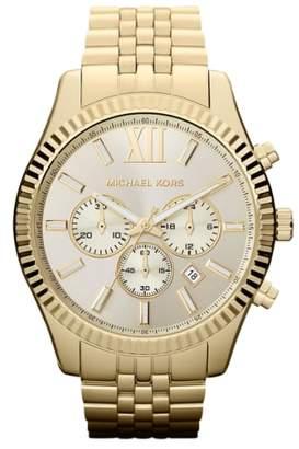 Michael Kors 'Large Lexington' Chronograph Bracelet Watch, 45mm