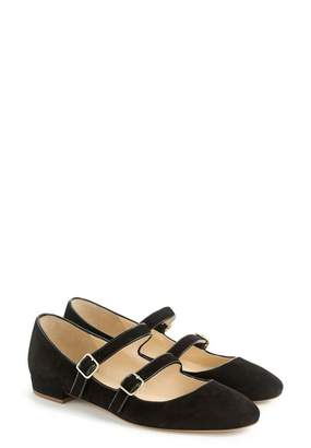 J.Crew J. Crew Multistrap Mary Jane Flat (Women)