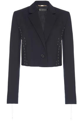 Versace Chain Cropped Jacket