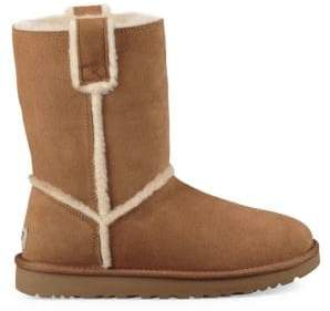 UGG Classic Short Spill Seam Shearling Boots