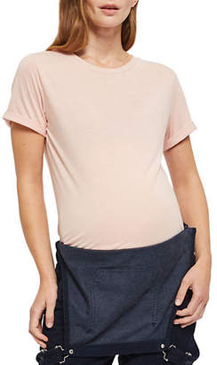 Topshop MATERNITY Neat Crew Neck T-Shirt