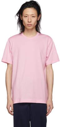 Comme des Garcons Pink Logo T-Shirt