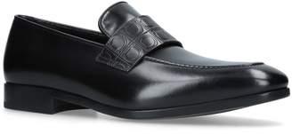 Salvatore Ferragamo Logo-Embossed Loafers