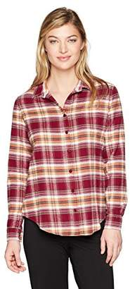 PJ Salvage Women's Lost In Wonder Plaid Shirt