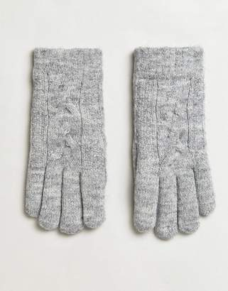 Aldo Abenadia Cable Knit Gloves