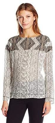 Plenty by Tracy Reese Women's Embroidered Tee