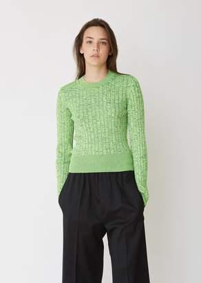 MM6 MAISON MARGIELA Cropped Long Sleeve Sweater