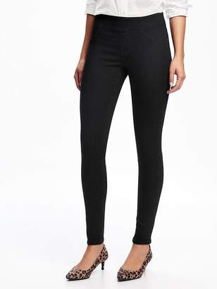 Old Navy Mid-Rise Black Rockstar Jeggings for Women