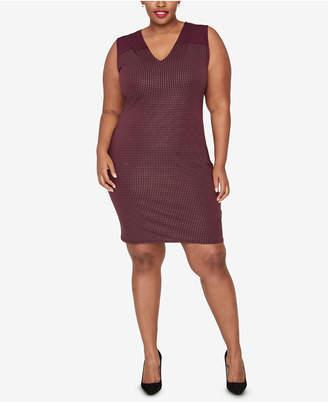 Rachel Roy Trendy Plus Size Studded Dress