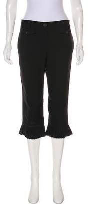 Anna Molinari Mid-Rise Wool Pants