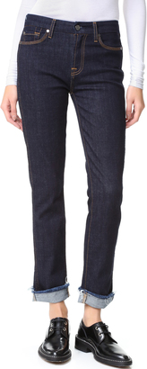 7 For All Mankind Fashion Boyfriend Jeans $189 thestylecure.com