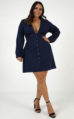Showpo I Know a Place Dress in navy - 6 (XS) Casual Outfits