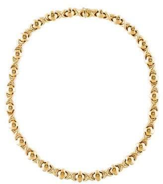 Xo 14K 'XO' Link Necklace