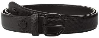 Lacoste 25 Curved Stitched In Box Women's Belts