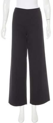 Valentino Virgin Wool Wide-Leg Pants