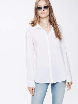 Xirena XiRENA Beau Cotton Poplin - White