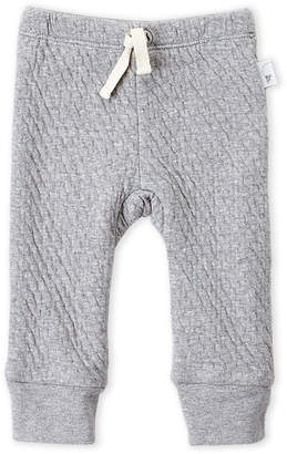 Baby Essentials Burt's Bees Baby (Newborn Girls) Grey Quilted Sweatpants