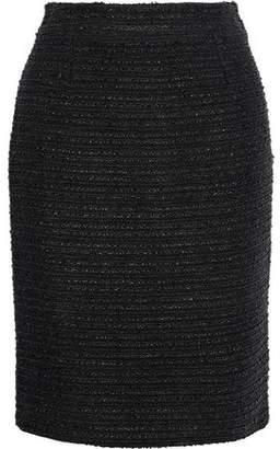 Carolina Herrera Cotton-Blend Bouclé Pencil Skirt