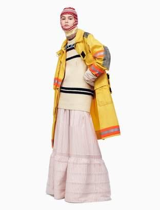 Calvin Klein striped long pioneer skirt