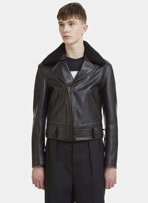 Maison Margiela Biker Jacket in Black