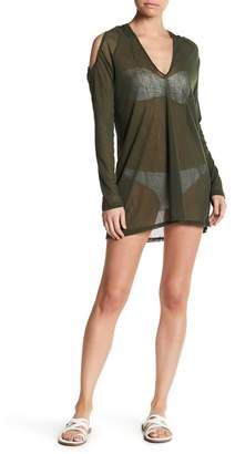 Robin Piccone Sophia Mesh Hooded Cover-Up