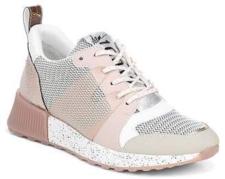 Sam Edelman Women's Darsie Leather & Mesh Lace Up Sneakers