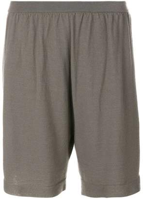 at Farfetch Rick Owens loose fit shorts