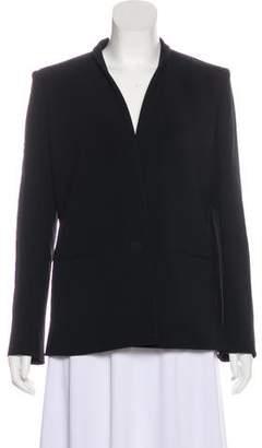 Mantu Structured Button-Up Blazer