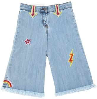 Stella McCartney Stretch Denim Patches Jeans