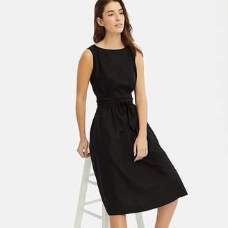 Uniqlo Women's Linen Blend A-line Sleeveless Dress